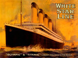 Olympic and Titanic Affischer