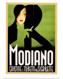 Modiano&#160;1935 Affiches par Franz Lenhart