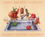 Club Veg Posters by Greg Brown