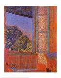 Fenêtre ouverte Affiches par Pierre Bonnard