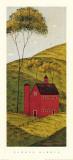 Landeindrücke II – Scheune Poster von Warren Kimble