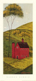 Country Panel II, Barn Prints by Warren Kimble