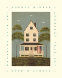 The Front Porch Affiches par Warren Kimble