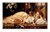 Mother and Child Art by Frederick Leighton