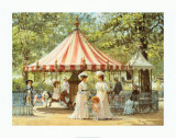 Summer Carousel Prints by Alan Maley