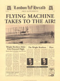 Flying Machine Takes to the Air Plakater af The Vintage Collection