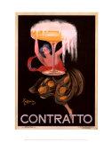 Contratto Posters by Leonetto Cappiello