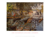 Bathers at la Grenouillere Prints by Claude Monet