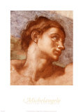 Sistine Chapel-Adam Print by  Michelangelo Buonarroti
