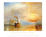 Fighting Temeraire Prints by William Turner