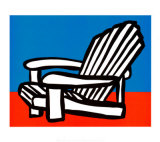 Adirondack Chair Posters by Tom Slaughter