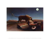 Sleeping Gypsy, 1897 Poster by Henri Rousseau
