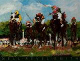 Polo Ponies Posters by Nell Revel-Smith