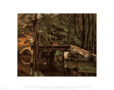 Bridge of Maincy Melun Print by Paul Cézanne
