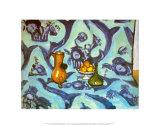 Still Life with Tablecloth Plakater av Henri Matisse