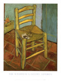 Van Gogh's Chair, c.1888 Poster by Vincent van Gogh