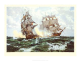 The Days of Adventure Posters by Montague Dawson