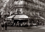 Saint-Germain des Pres, Paris Poster by Oliver Martin Gambier