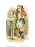 How Alice Grew Tall Print