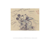 El sastrecillo valiente, 1938 (Mickey y Minnie): Disney Pster