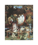 The Lady of Shalott. c.1889-92 Prints by William Holman Hunt