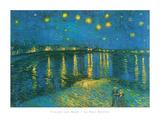 La Nuit Étoilée Posters by Vincent van Gogh