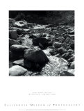 Mountain Stream Posters by Ansel Adams