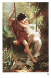 Le Printemps Prints by Pierre Auguste Cot