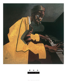 Piano Man Prints by  BUA