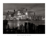 New York at Night Prints