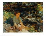 Black Brook Prints by John Singer Sargent
