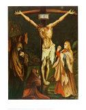 The Small Crucifixion, c.1510 Prints by Matthias Grünewald