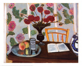Dahlias Prints by Henri Matisse
