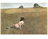 Christina&#39;s World, 1948 Prints by Andrew Wyeth