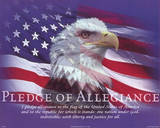 Pledge of Allegiance - Mini Plakater