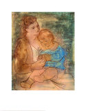 Mother and Child Poster by Pablo Picasso