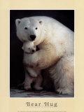 Abrazo del oso Arte por Rick Egan