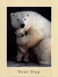 Bear Hug Prints by Rick Egan