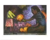 Mother's Helper Prints by Diego Rivera