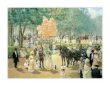 Balloon Seller Print by Alan Maley