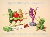 Show Biz Plakater af Greg Brown
