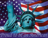 Proud to be an American - Mini - Posterler