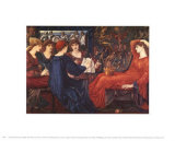 Edward Burne-Jones - Laus Veneris, 1868 Reprodukce