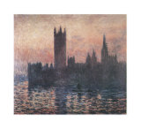Le Parlement, coucher de soleil, 1903 Affiches par Claude Monet