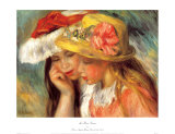 Deux Soeurs Posters by Pierre-Auguste Renoir