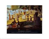 A Sunday on La Grande Jatte 1884, 1884-86 Kunst van Georges Seurat