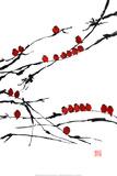 Bambus-Chor Kunstdrucke von Jenny Tsang