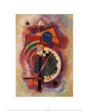 Tribute to Grohmann Prints by Wassily Kandinsky