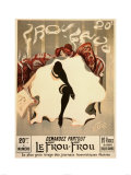 Le Frou-Frou Prints by Lucien-Henri Weiluc