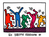 Sans titre Art par Keith Haring
